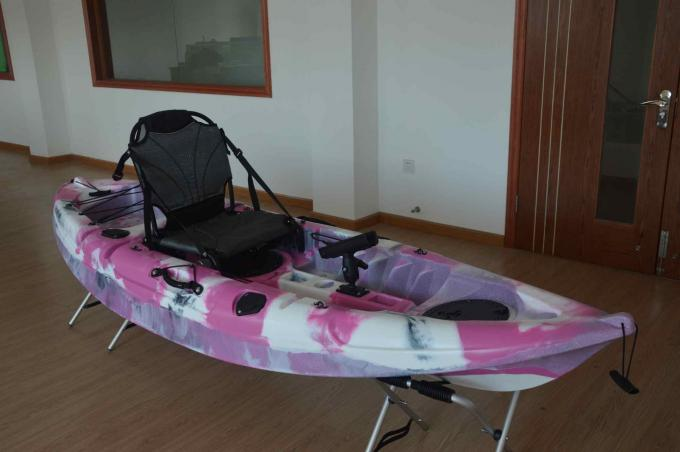 OEM Plastic Angler Kayak Fishing Boats Endure Harsh Outdoor Situation Structure Customized