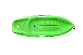 No Inflatable 6ft Kids Sit On Top Kayak Easy Control For Kids Beginner Eco - Frienldy With Side Handles