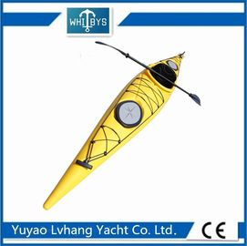 Recreational Tandem Sit In Kayak Corrosive Resistance Harsh Weather Condition Enduring