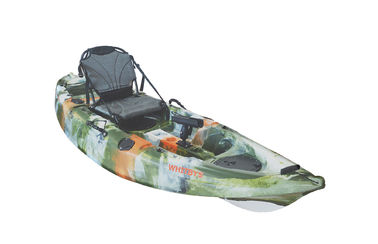 "9"" 20kg Top Rated Recreational Kayaks , Racing Tandem Recreational Kayak With Canoe Paddle supplier"