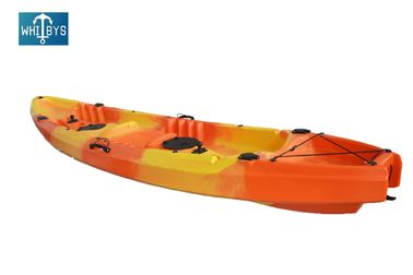 New Design LLDPE HDPE 2+1 Family Kayak Touring Boat for Recreation supplier