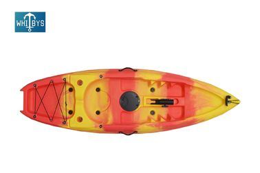 Plastic Hull Children'S Sit On Top Kayak / Solo Youth Kayak 220*66*25CM Size