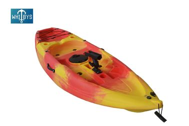 Plastic Hull Children'S Sit On Top Kayak / Solo Youth Kayak 220*66*25CM Size supplier