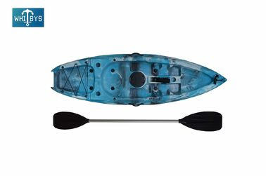 Professional Plastic Kids Sit On Kayak 5mm Hull Thickness with carry handle