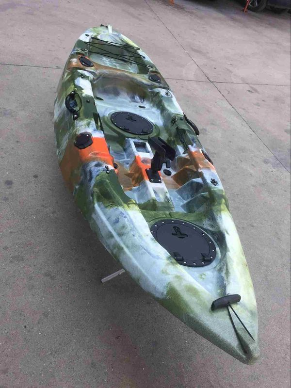 Recreational Adult Sit On Kayak , Tandem Sit On Top Fishing Kayak Excellent Stable Hull