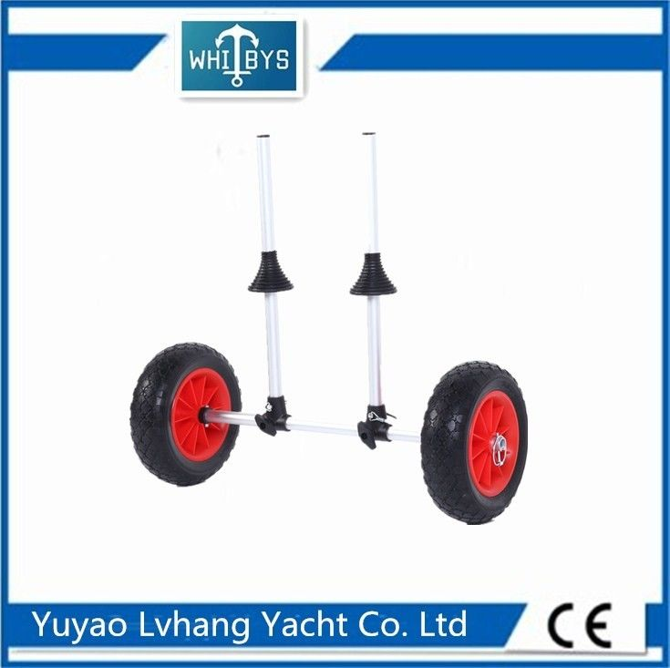 Multifunction Foldable Kayak Boat Accessories Aluminum Canoe Trolley Easily Move The Kayak