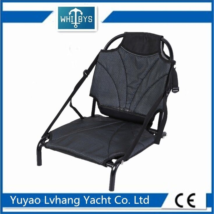 Deluxe Backrest Seat Kayak Seat Hardware Sit On Top Huge Cargo Pouch