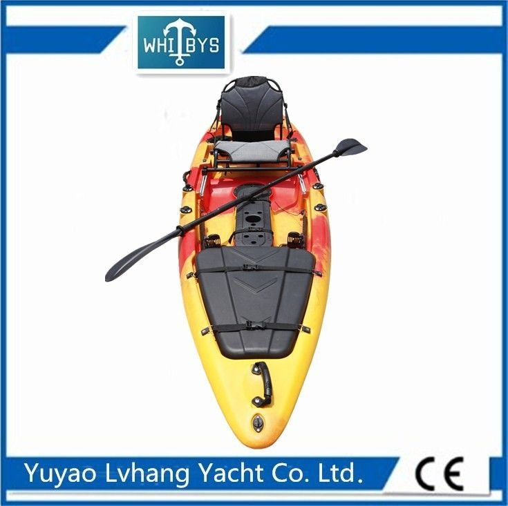 OEM LLDPE Plastic Adult Sit On Kayak 13 FT 35KG Kayak Weight 200KG Max User Weight