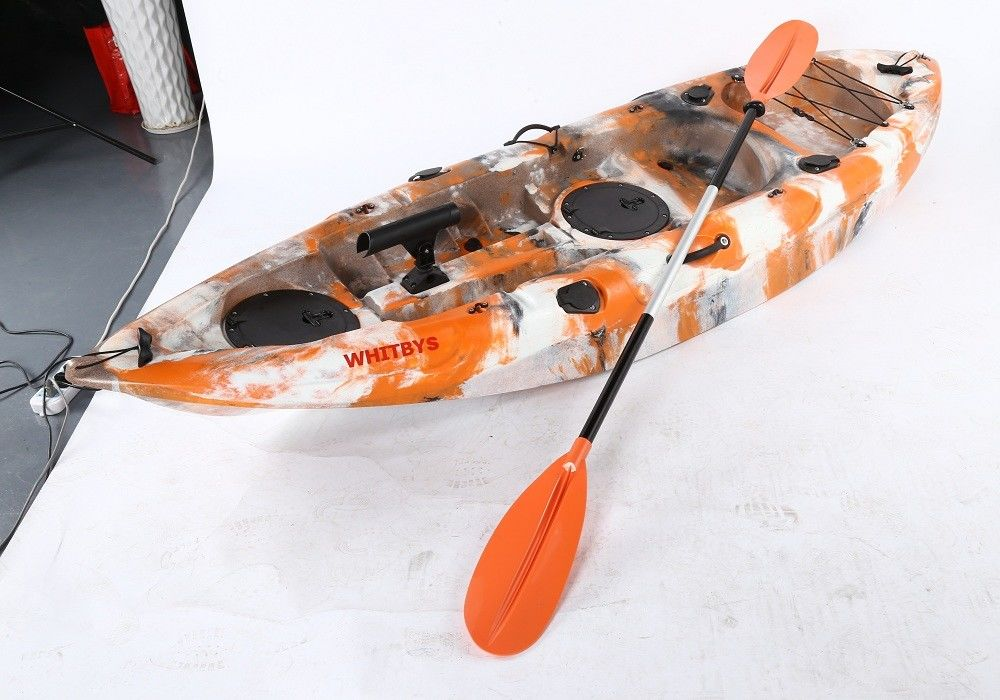 Wholesale Customzied Vibe Camo Adult Sit On Kayak  Person Tandem Sit On Kayak Rotomolding Fast Speed
