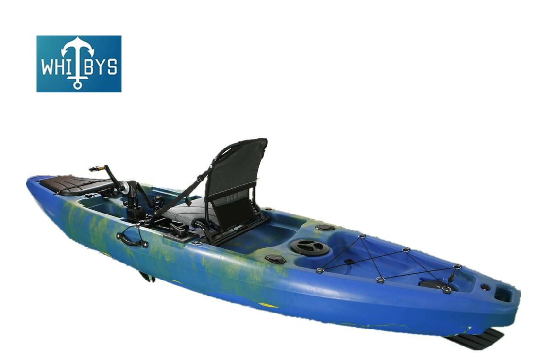 Rotomolded 12 Ft Adult Sit On Kayak Aluminum Seat Polyethylene Anti - Corrision