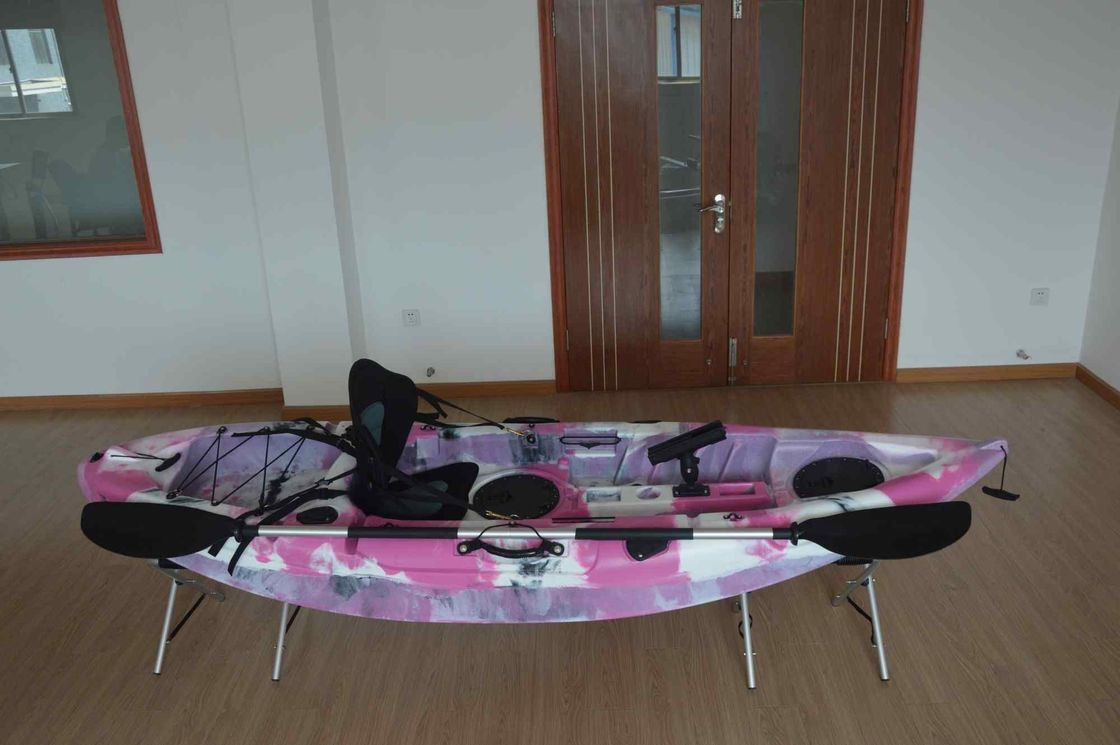 Customized Adult Sit On Kayak , Multi - Model Sea Fishing Kayak Entertaining Water Exploration